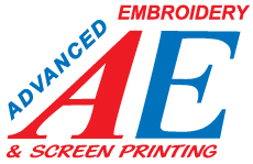 Advanced Embroidery | Screenprinting, Embroidery, Apparel, and more... Logo
